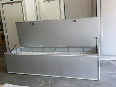 Open Horizontal Storage Locker