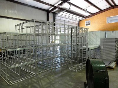 Storage Locker Frames