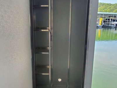 Vertical Locker Inside